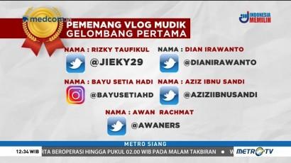 Ini Daftar Pemenang Vlog Mudik Metro TV Gelombang Pertama