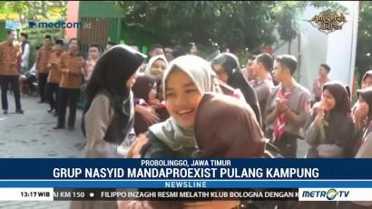 Kepulangan Grup Nasyid Mandaproexist Disambut Meriah