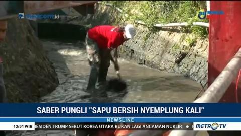 Peduli Kebersihan Sungai dengan Aksi Saber Pungli