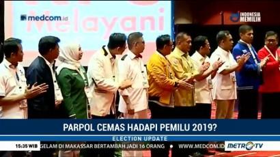 Parpol Cemas Hadapi Pemilu 2019?