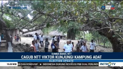 Viktor Laiskodat Kunjungi Kampung Adat di Sumba Barat