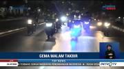 Kapolda Sumsel dan Pangdam II Sriwijaya Patroli Malam Takbiran