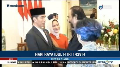Jokowi Gelar <i>Open House</i> di Istana Bogor