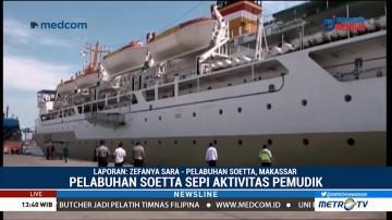 Pelabuhan Soekarno Hatta Sepi Pemudik