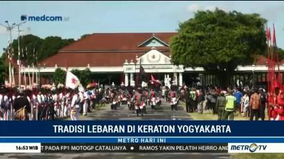 Keraton Yogyakarta Sambut Idulfitri dengan Gerebek Syawal