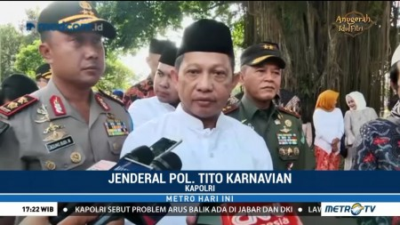 Polri Sudah Tangkap 110 Terduga Teroris Terkait Bom Surabaya