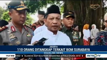 Kapolri: 110 Terduga Teroris Terkait Bom Surabaya Ditangkap