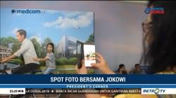 Antre Demi Dibonceng 'Jokowi'