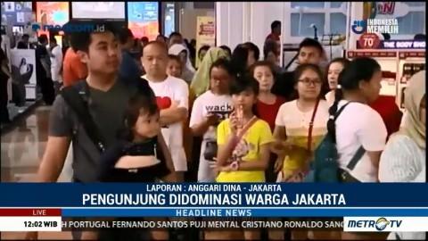 Warga Ibu Kota Nikmati Libur Lebaran di Jakarta Fair