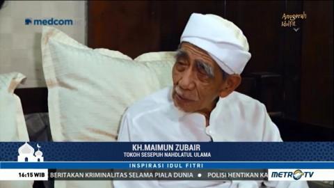 Inspirasi Idulfitri Bersama KH Maimun Zubair