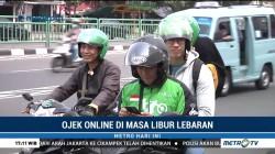 Tarif Ojek Online Normal di Masa Libur Lebaran