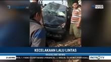 Mesin Mendadak Mati, Mobil Tertabrak Kereta di Tangerang