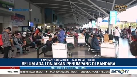 Bandara Sultan Hasanuddin Mulai Dipadati Pemudik