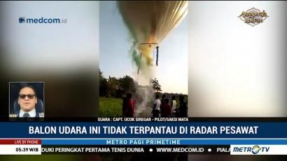 Bahaya Balon Udara untuk Dunia Penerbangan
