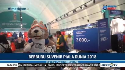 Berburu Suvenir Piala Dunia 2018
