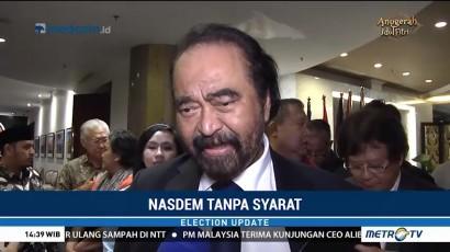 Kata Surya Paloh Soal Cawapres Jokowi