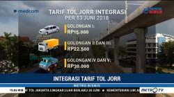 Integrasi Tarif Tol JORR Diberlakukan Mulai Rabu