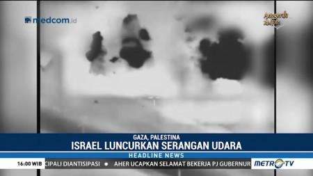 Israel Kembali Serang Palestina