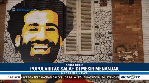 Popularitas Mohamed Salah Menanjak