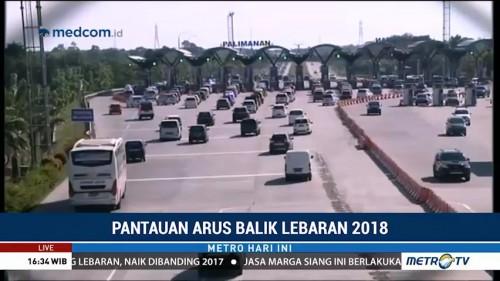 Arus Balik, GT Palimanan Buka 16 Gardu ke Arah Jakarta