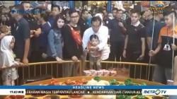 Jokowi Ajak Cucu Jajal Wahana Memancing