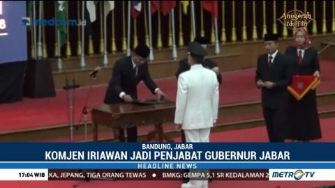 M Iriawan Resmi Jabat Pj Gubernur Jabar