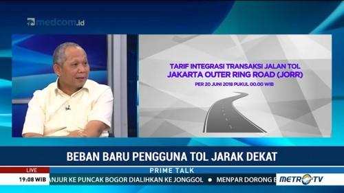 BPJT Bantah Tarif Integrasi Bebani Pengguna Tol Jarak Dekat
