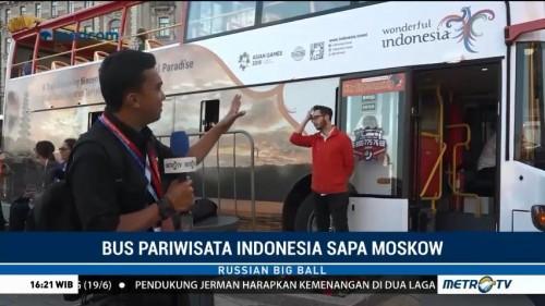 Bus Pariwisata Indonesia Kelilingi Moskow