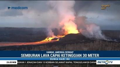 Lava Pijar Gunung Kilauea Meluas