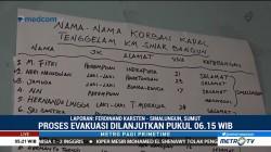 Tim SAR Gabungan Berhasil Evakuasi 19 Penumpang KM Sinar Bangun