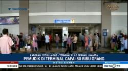 Arus Balik Mulai Terlihat di Terminal Pulogebang