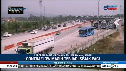 27 Ribu Kendaraan Kembali ke Jakarta Melalui Tol Cipali