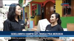 Mengunjungi Kampung Bebas Rokok di Jakarta