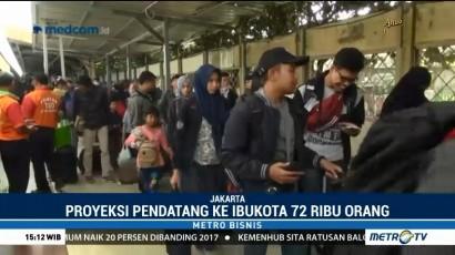 Pendatang Baru ke Ibu Kota Diprediksi Capai 72 Ribu Orang