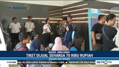 PT Railink Uji Coba Kereta Bandara Soetta-Bekasi