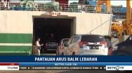 Kendaraan Roda Empat Dominasi Arus Balik di Pelabuhan Bakauheni
