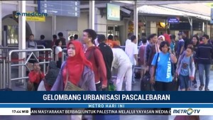 Gelombang Urbanisasi Pascalebaran