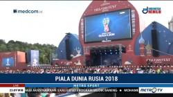 Suporter Antusias Saksikan Laga Polandia vs Senegal di FIFA Fan Fest