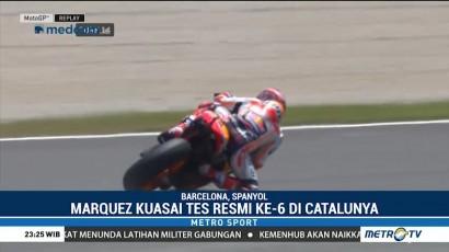 Marquez Kuasai Tes Resmi ke-6 di Catalunya