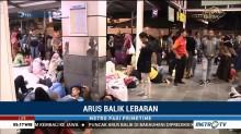 Puncak Arus Balik Belum Terjadi di Stasiun Pasar Senen