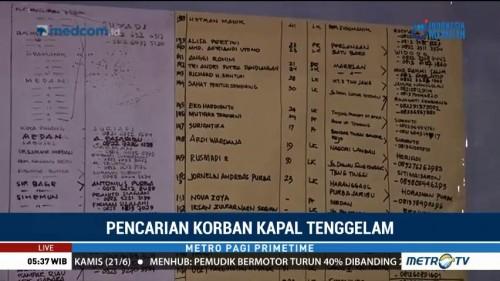Pencarian Korban Tenggelamnya KM Sinar Bangun Dilanjutkan Pagi