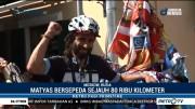 Suporter Argentina Bersepeda Antar Benua Demi Dukung Jagoannya