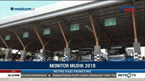 Puncak Arus Balik di Terminal Purabaya Diprediksi Hari Ini