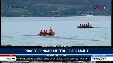 Satu Korban Kapal Tenggelam di Danau Toba Kembali Ditemukan