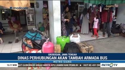 Arus Balik, Penumpang Bus di Terminal Purwodadi Naik 400%