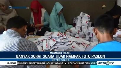 KPU Makassar Temukan Lima Ribu Surat Suara Rusak