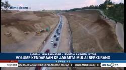 Volume Kendaraan di Tol Batang-Semarang Mulai Berkurang