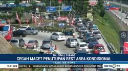 Polisi Berlakukan Buka Tutup Rest Area Tol Cipali