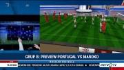 Perkiraan Formasi Portugal vs Maroko