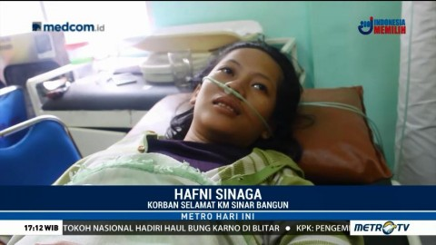 Korban Selamat Tenggelamnya KM Sinar Bangun Masih Trauma